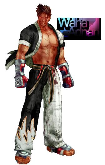 Jin Kazama Tekken 4 render by WahaAdnan ClipartLook.com