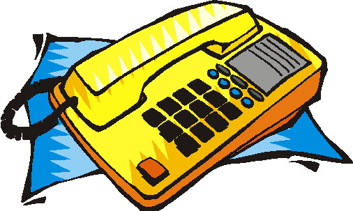 Clipart Telephone Clipart