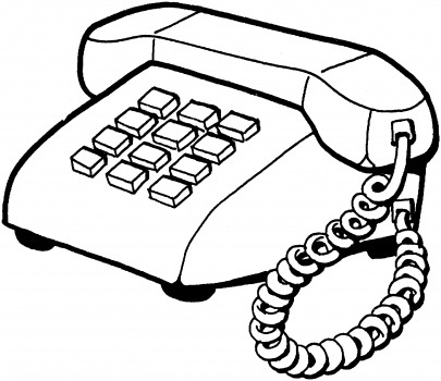 Complete Telephone Clipart Black And 82 For Your Memorial Day Images With Telephone  Clipart Black And