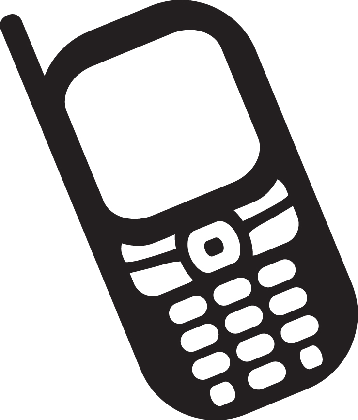 Telephone clip art free clipart images 6