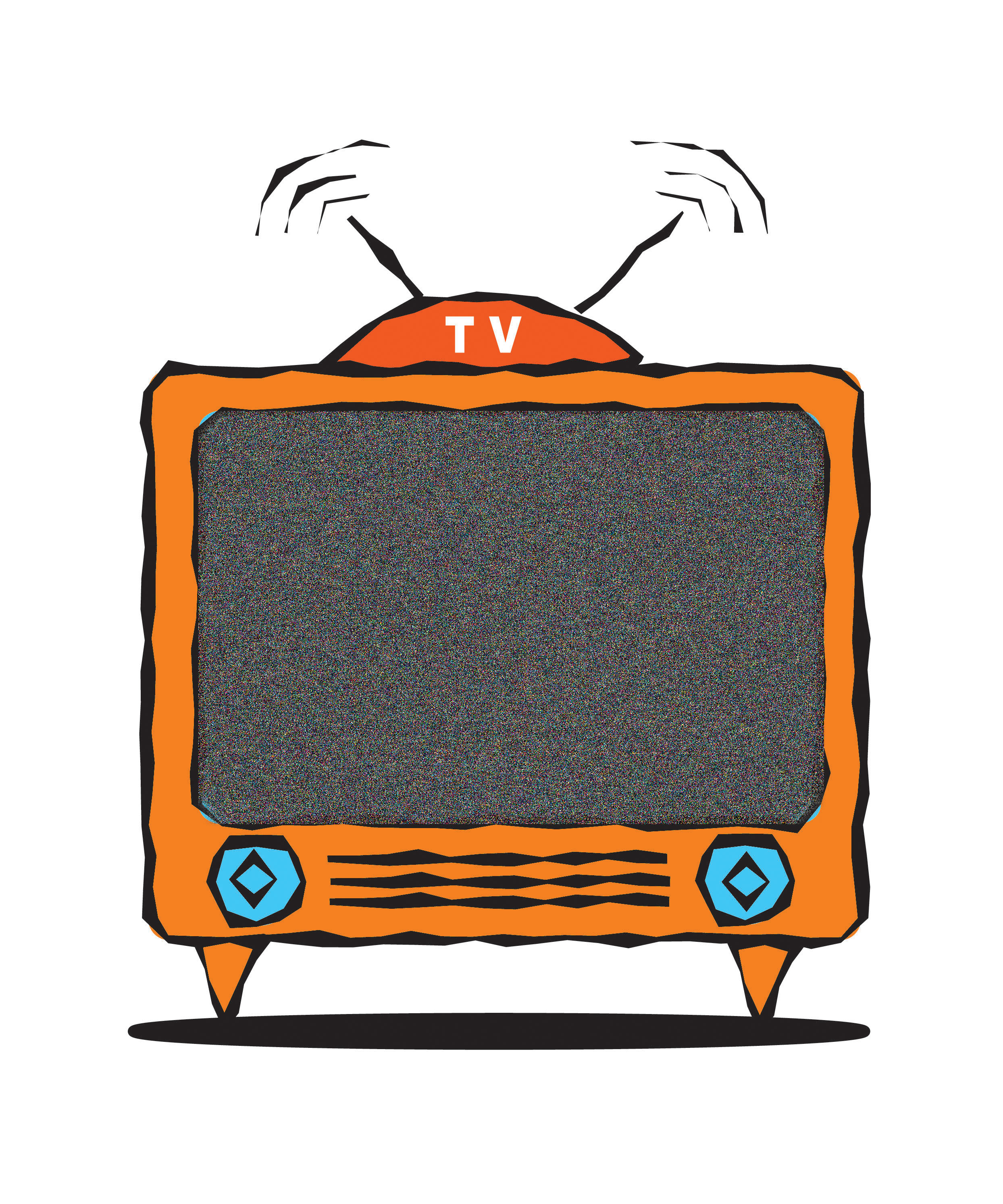 Television Clip Art #537
