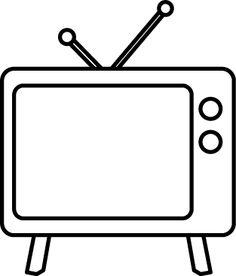 Television cliparts