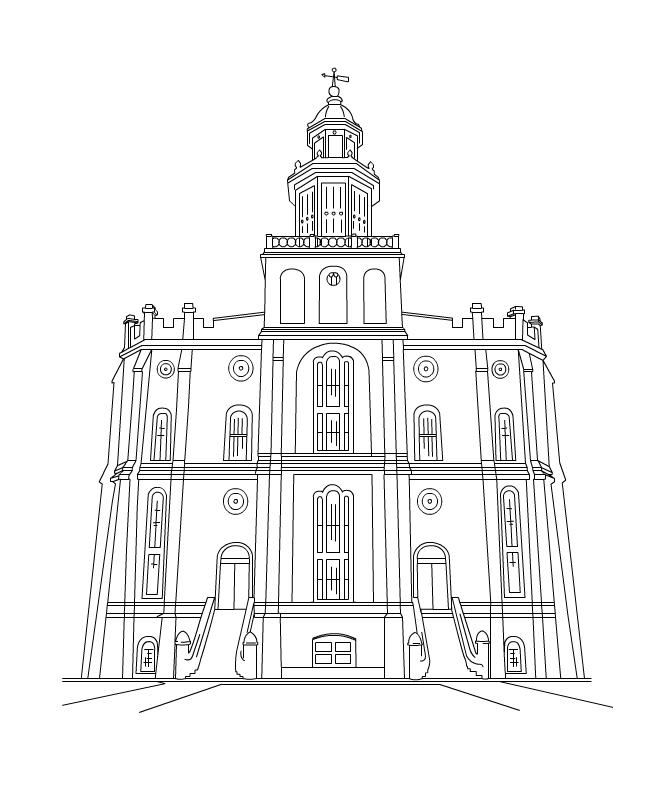 ... Temple LDS Clip Art Kirtland ...