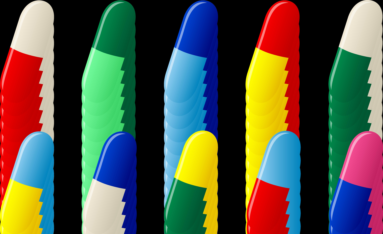 Ten capsule pills free clip art