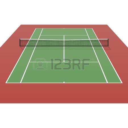 tennis court: Tennis court