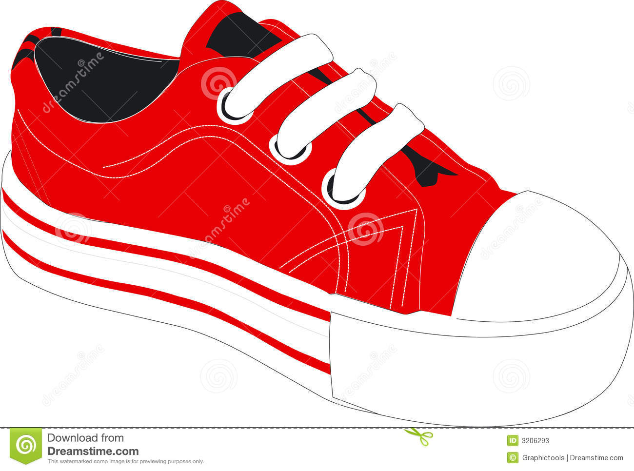 Tennis Or Athletic Shoe .