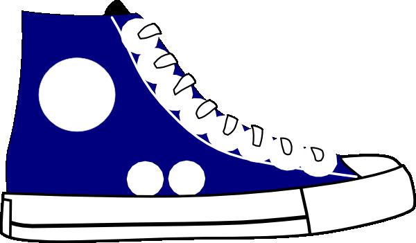 Tennis Shoe Clip Art Vector Clip Art Online Royalty Free