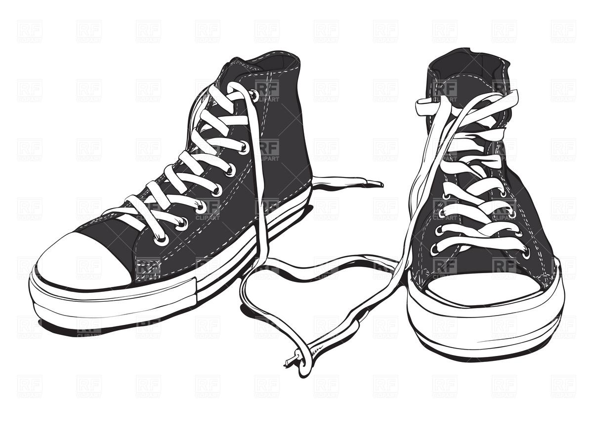 Tennis Shoes Clipart Clipart Tennis Shoes Clip Art