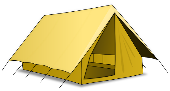 Tent free to use clipart