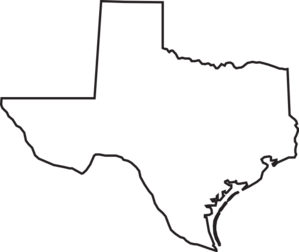 Texas outline clipart free clipart images 5