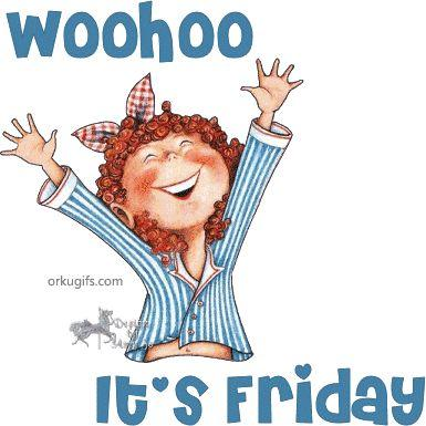 good morning its friday clipart