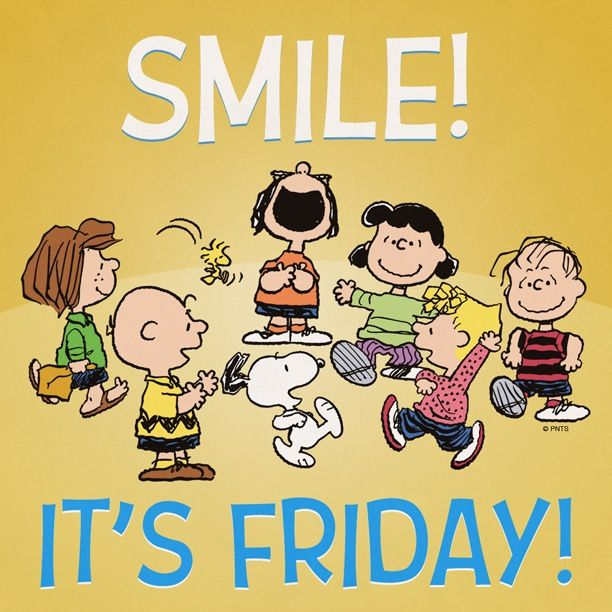 Happy Friday From The Peanut Gallery! Snoopy u0026 Peanuts Pinterest
