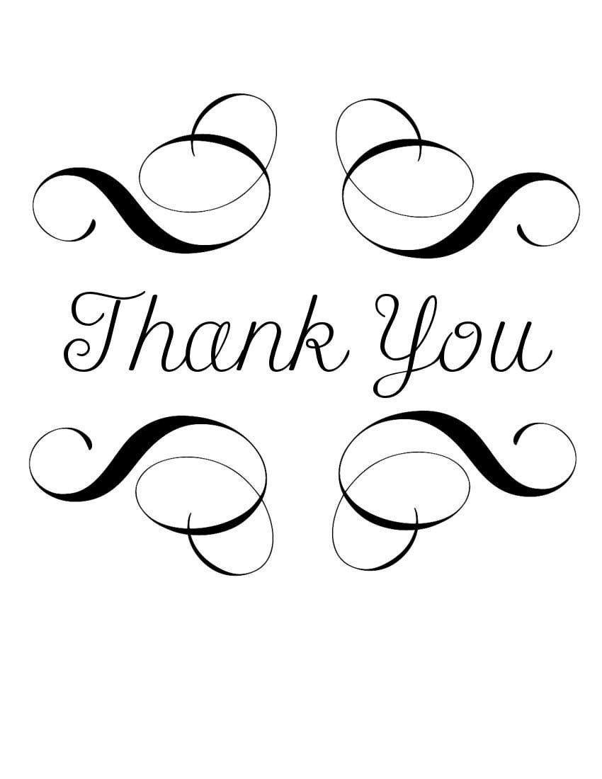 Thank You Clipart Black And White-hdclipartall.com-Clip Art850