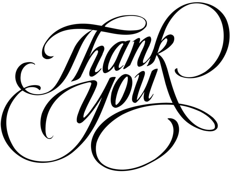 Thank you black and white thank you clipart clip art library clipartpost