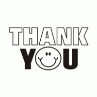 Thank You Clipart Black And White
