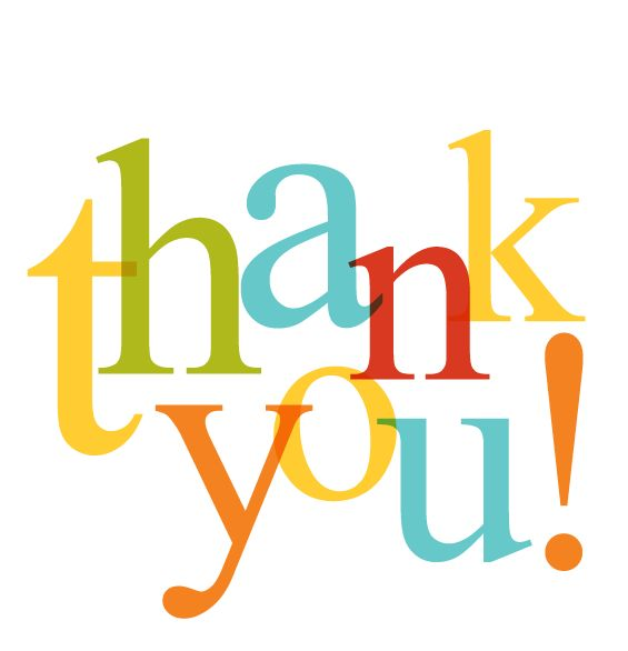 thank you clip art | Thank You! | Manners | Clipart library