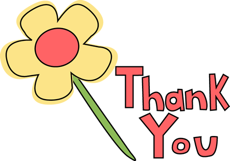 Thank You Graphics Transparent Clipart #1
