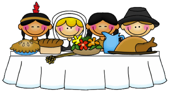 First Thanksgiving Clipart #1