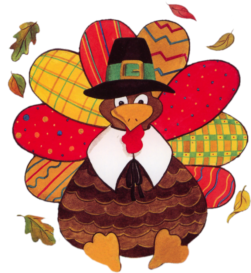 THANKSGIVING TURKEY CLIP ART  - Thanksgiving Clipart