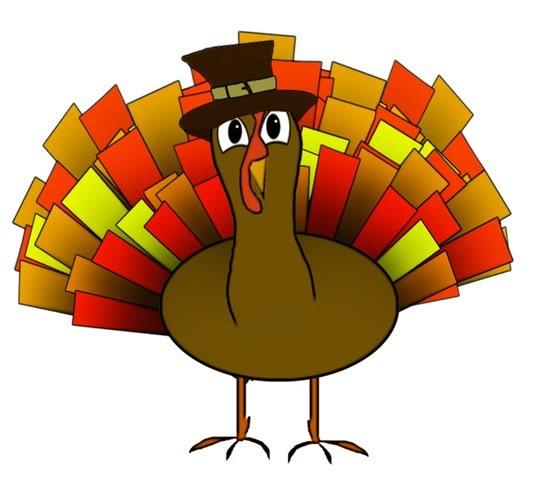 Thanksgiving Day Turkey Clip .