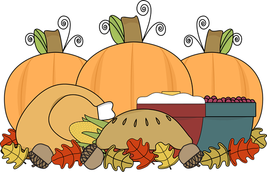 Thanksgiving Feast - Thanksgiving Clipart
