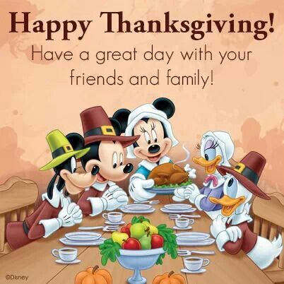 Thanksgiving. Thanksgiving Disney QuotesMickey Mouse ...