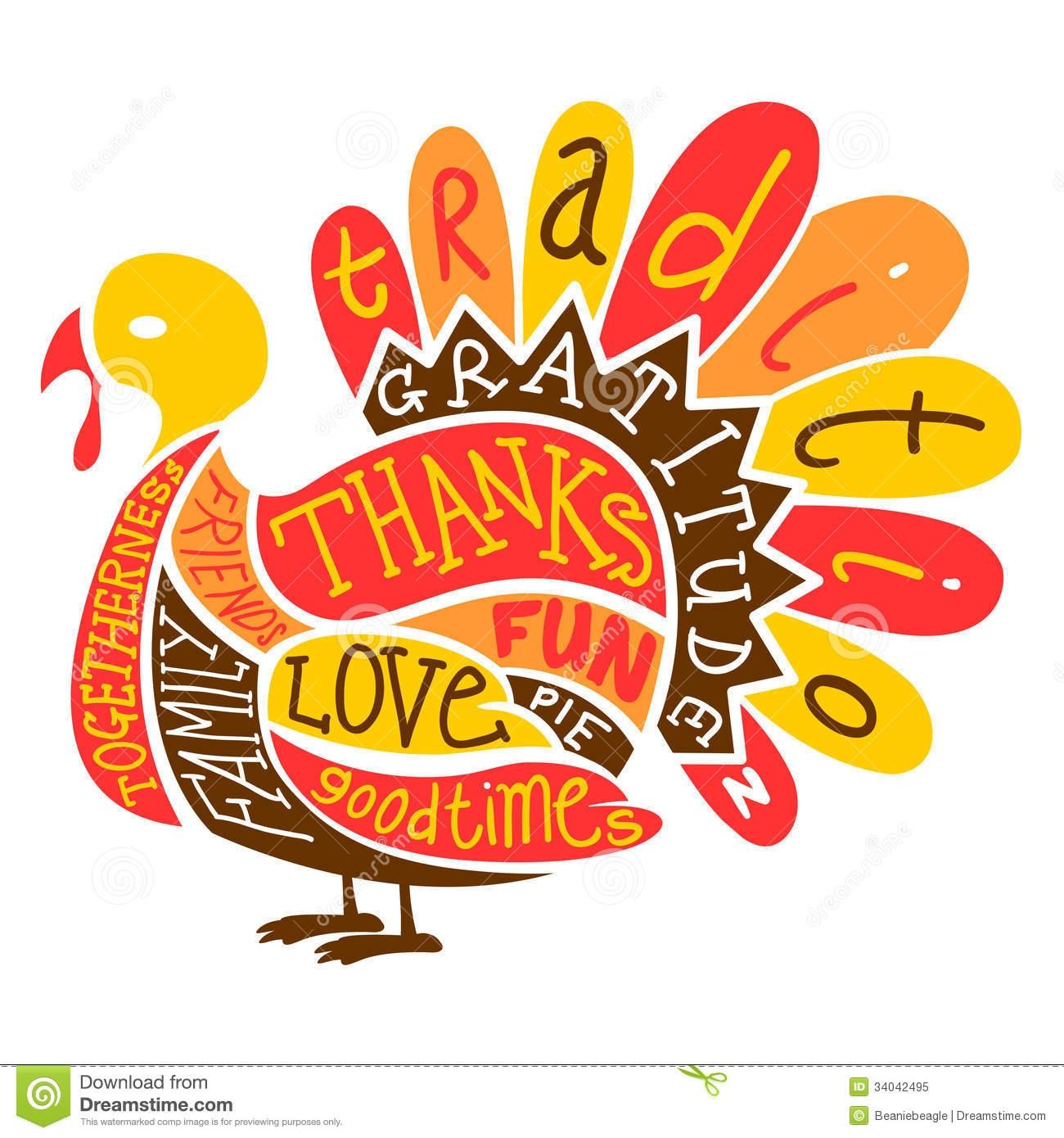 Thanksgiving Turkey Clipart Free