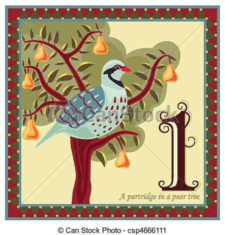 ... The 12 Days of Christmas - Religious card with The 12 Days.
