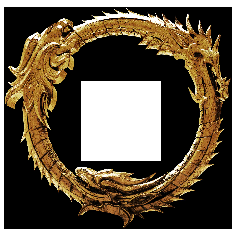 . ClipartLook.com 3D - The Elder Scrolls Online Ouroboros Logo 3 by llexandro