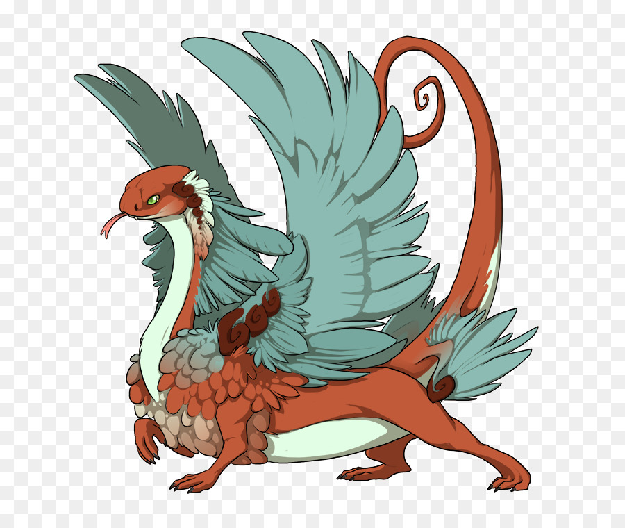 The Elder Scrolls V: Skyrim Rooster Dragon Clip art - thicket