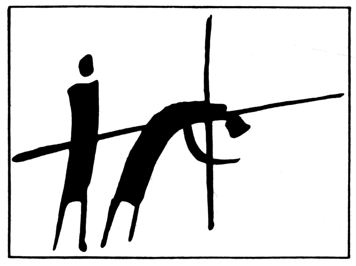 ... The Fifth Station - Simon Helps Jesus Carry the Cross - ClipArt .
