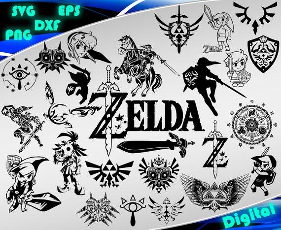 The Legend Of Zelda Clipart-Clipartlook.com-570