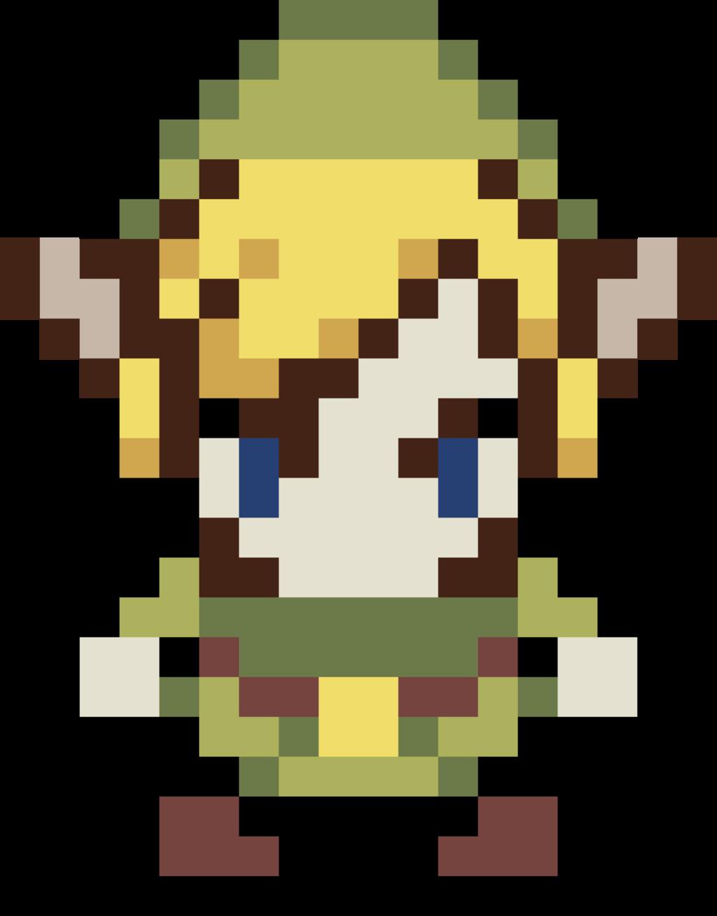 . ClipartLook.com Link - The legend of Zelda Pixel by KomankK