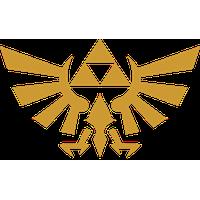 The Legend Of Zelda Logo Clipart PNG Image