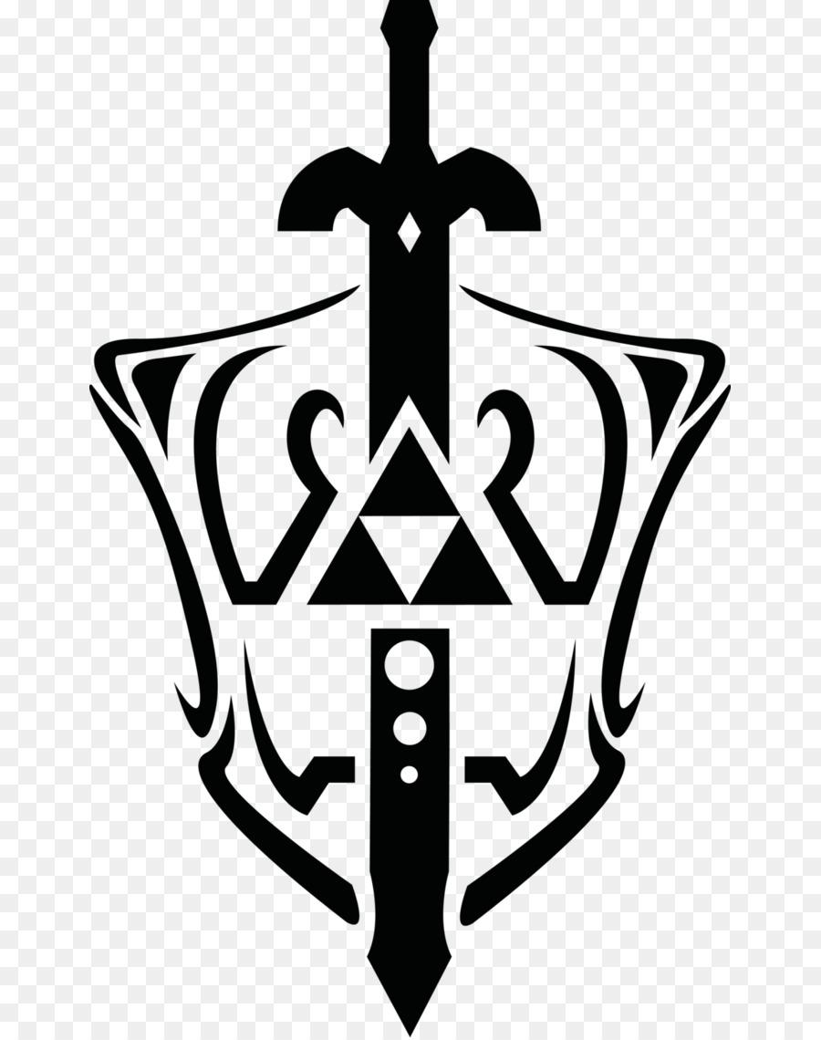 The Legend of Zelda: The Wind Waker Triforce Master Sword Clip art - Master  Sword Cliparts