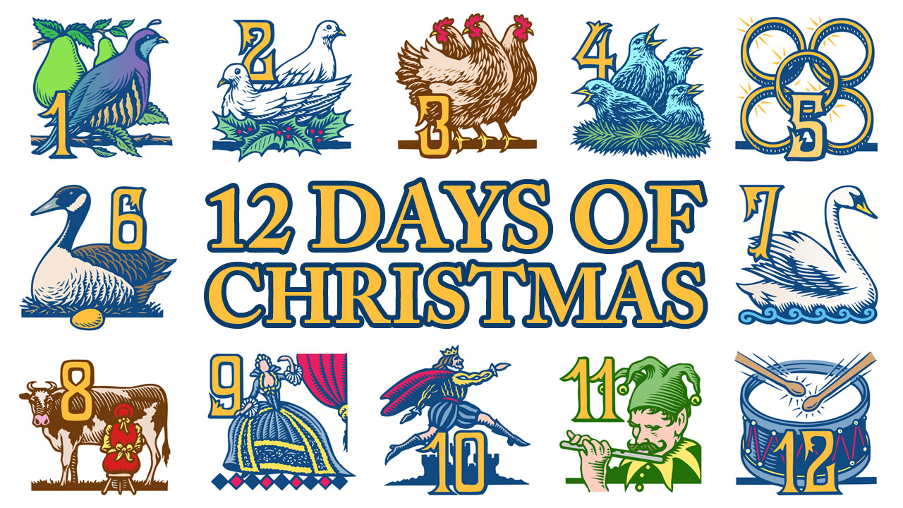 The Song The Twelve Days Of ..