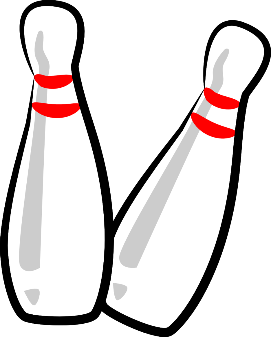 The Totally Free Clip Art Blog Sports Bowling Pins