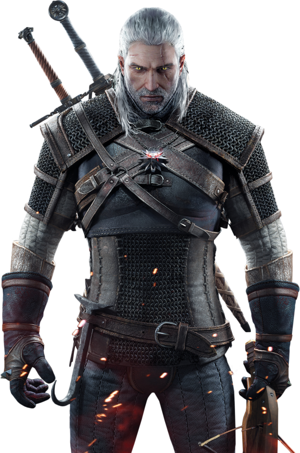 The Witcher 3 - Geralt Render by Ashish-Kumar ClipartLook.com