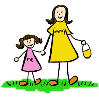 The Woman S Shirt Read Mommy And The Little Girl S Dress Reads Me