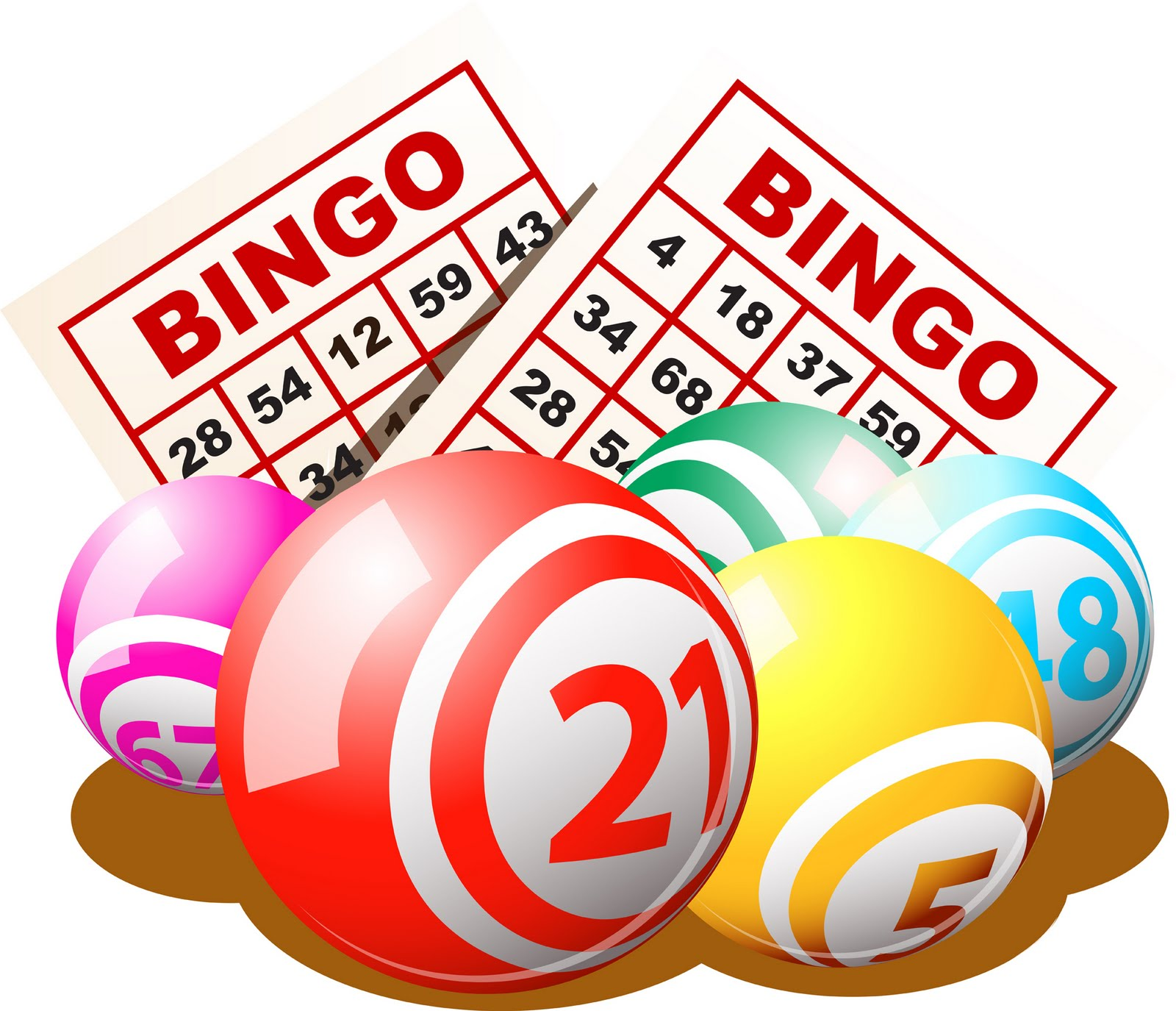 There Is 19 50s Bingo Free Cliparts All Used For Free