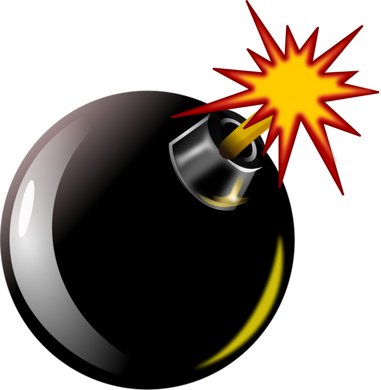 There Is 40 Cartoon Bomb Free Cliparts All Used For Free