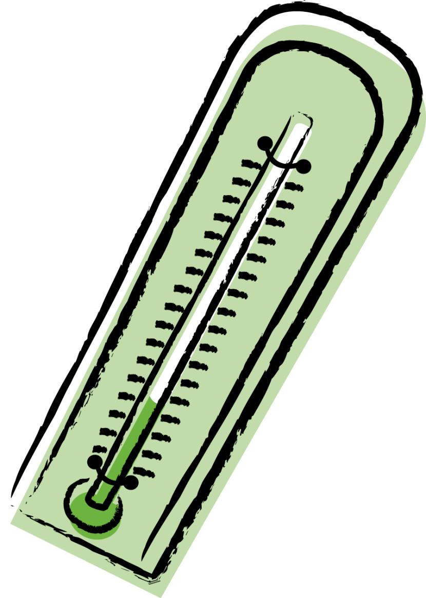 Thermometer clip art 6