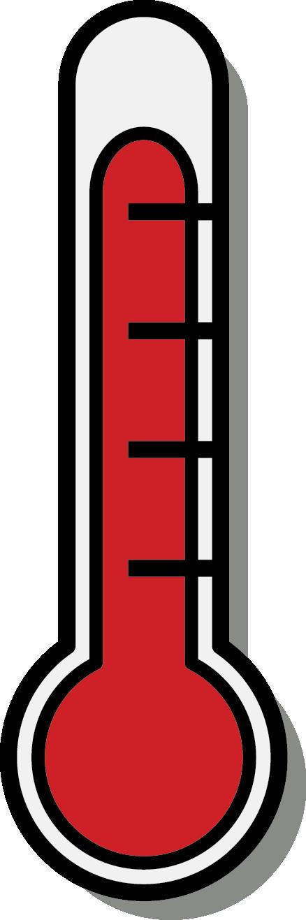 Thermometer clip art 7