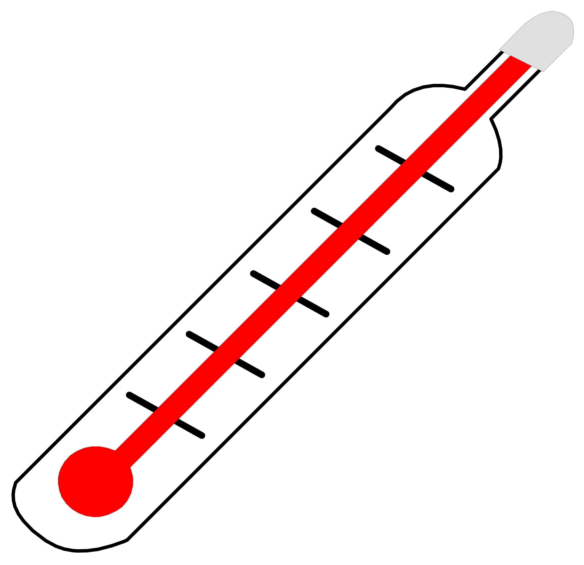 Thermometer thermostat clipart free clipart images