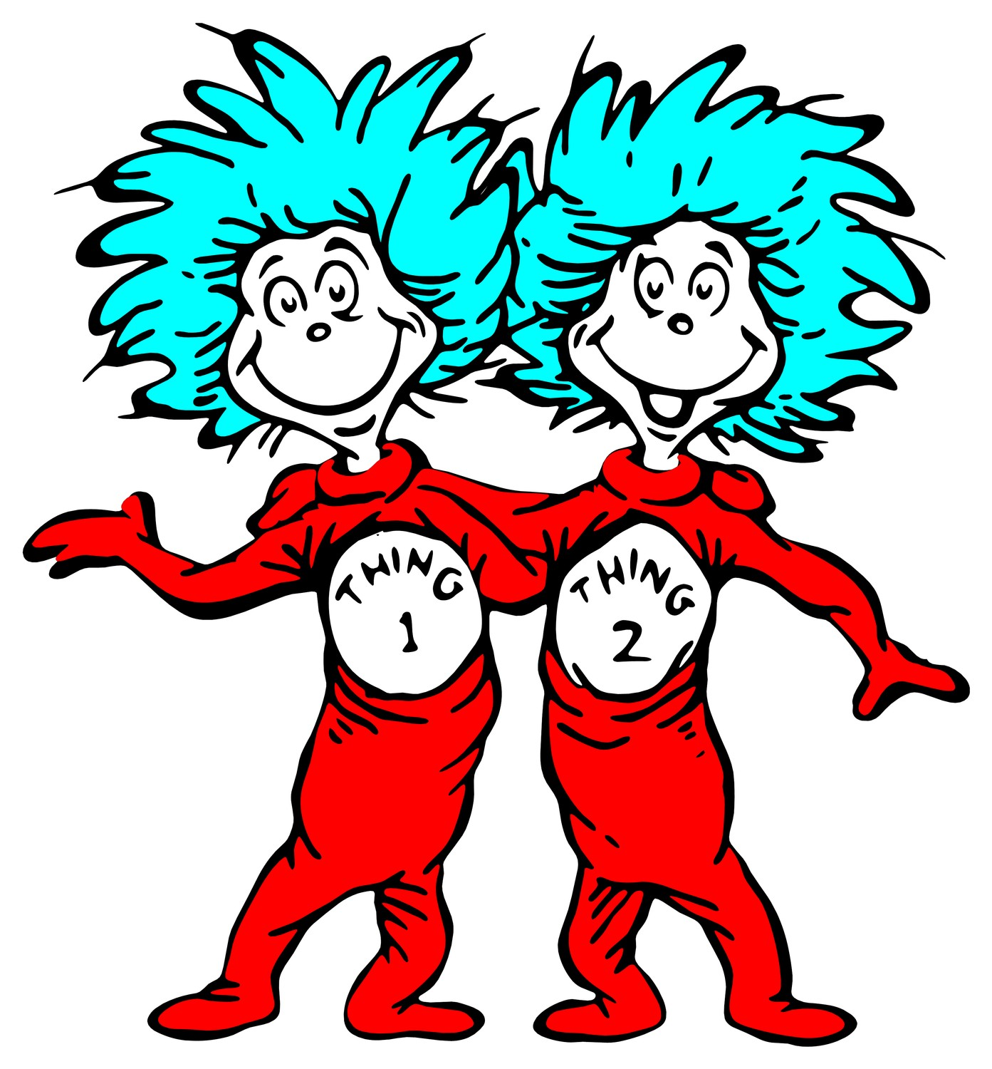 Thing 1 And Thing 2 Font Not Found