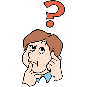 Girl thinking clipart free clip art image 2 image