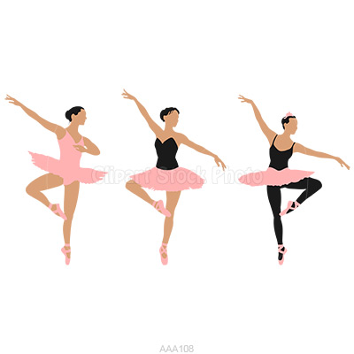 This Ballet Clipart Shows
