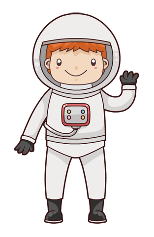 This cute and adorable cartoon astronaut clip art is perfect for use on your space projects, storybook illustrations, magazines, school projects, ...