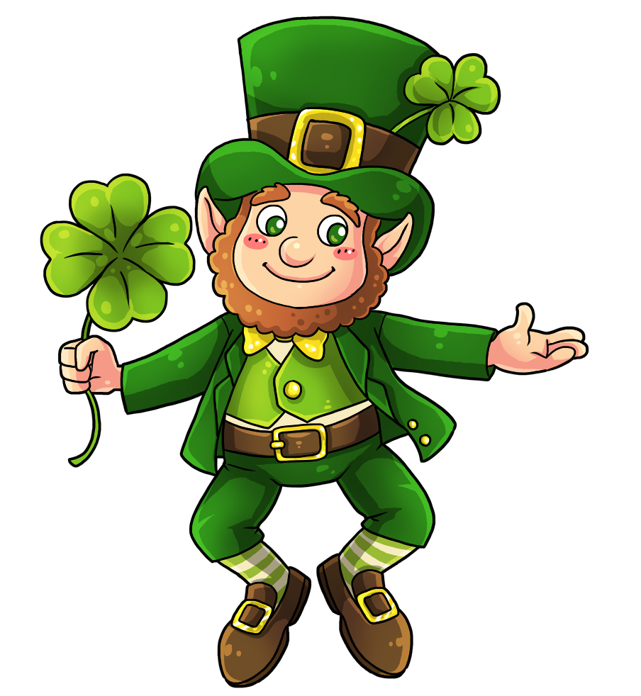 This cute and adorable leprechaun clip art is great for use on your Irish projects, St. Patricku0026#39;s Day projects, webpages, newsletters, presentations, etc.