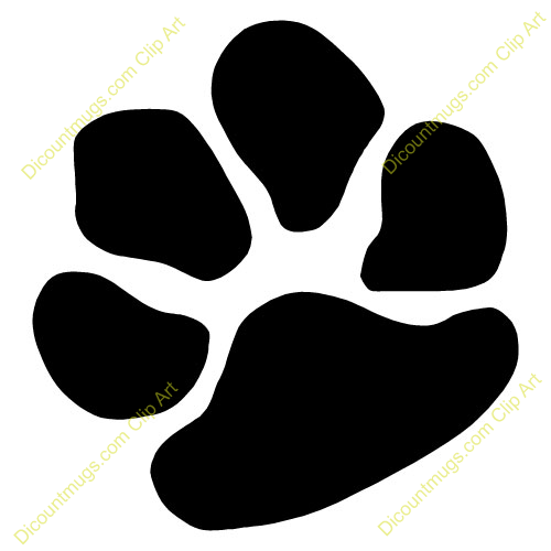 This Dog Paw Clip Art